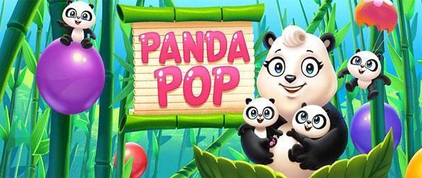 Panda Pop - Shoot bubbles to rescue cute panda cubs in this free Facebook game.