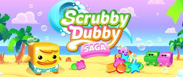 Scrubby Dubby Saga - Enjoy a highly unique match-3 experience that provides a massive twist to the gameplay.
