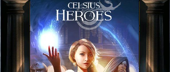 Celsius Heroes - Experience RPG gaming combined with Match 3 gameplay.