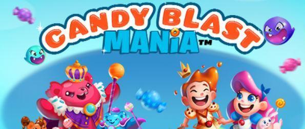 """Candy Blast Mania - Beat the Gummy Bear King and enjoy great bonuses and rewards in this """"candelicious"""" match-3 game, Candy Blast Mania!"""