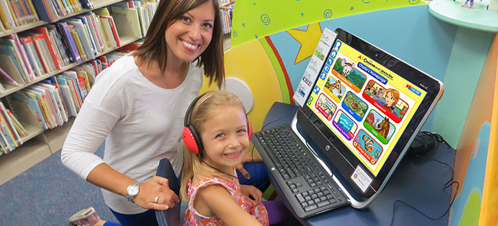 ABCmouse is available for free at selected libraries across the US