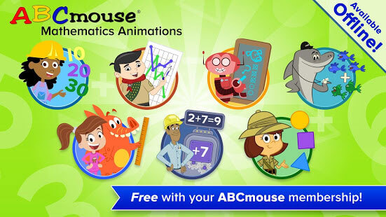 Offline ABCmouse math apps