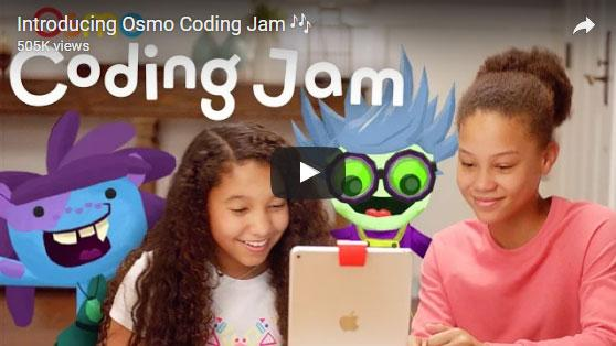 Introducing Osmo Coding Jam