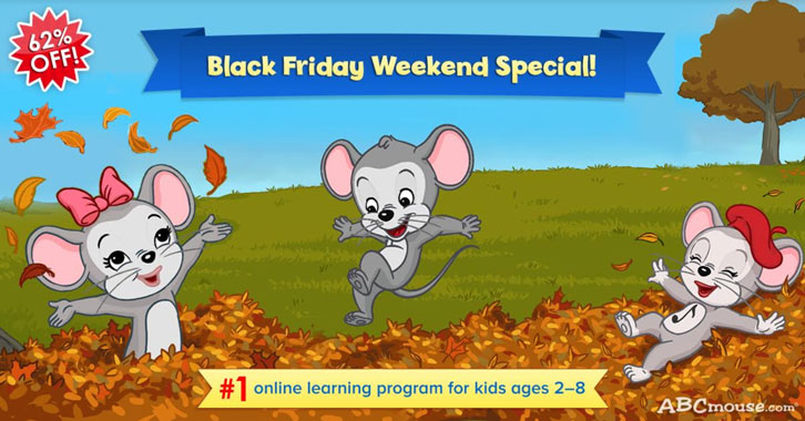 ABCmouse - Black Friday Sale