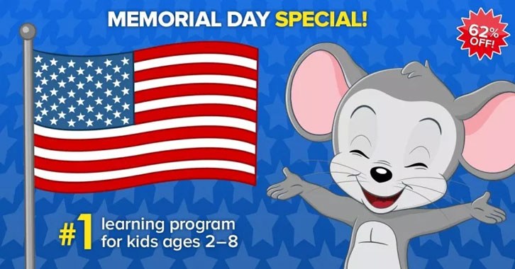 ABCmouse- Memorial Day Sale!