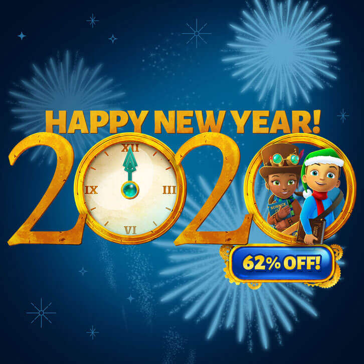 Special Holiday Discount for ABCmouse and Adventure Academy