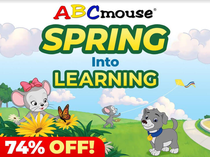 Spring into Learning with ABCmouse: Grab 74% Discount on Subscriptions!