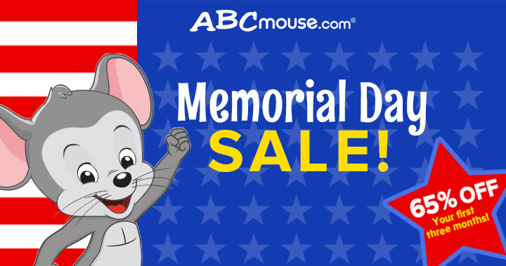 ABCmouse - Memorial Day Sale 2020!