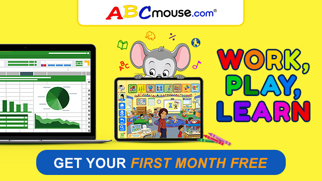 Get Your First Month FREE with ABCmouse!
