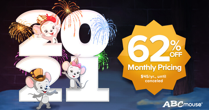ABCmouse's Amazing New Year Sale!
