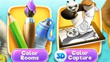 2 game modes in DreamWorks Color
