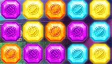 Match-3 puzzle in Barbie's Rock and Royals: Superstar Beats
