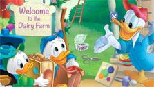 At the Dairy Farm with Donald Duck
