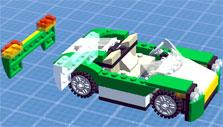 Building a car in Lego Creator Islands