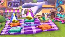 Having a picnic with a friend in Club Penguin Island