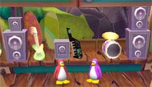 Club Penguin Island: Playing in a band