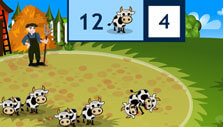 Counting via the farm game in Moneyville