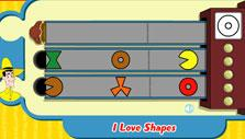 I Love Shapes Difficult Level