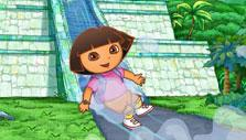 Dora's Number Pyramid Adventure Water Slide Water Slide