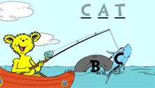 Fishing for ABC Caught Letter