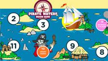 Pirate Board Games: Action Verbs Map