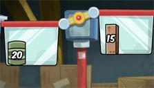 Weights in Escape from Greasy World