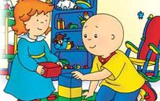 Spelling with Caillou