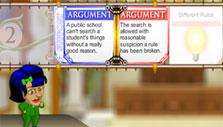 Pass or object to your opponent's support in Argument Wars