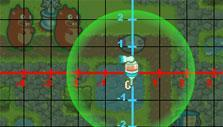 Placing a tower in Game Over Gopher