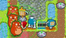 Game Over Gopher: Tower defense gameplay