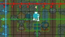 Correct coordinates in Game Over Gopher