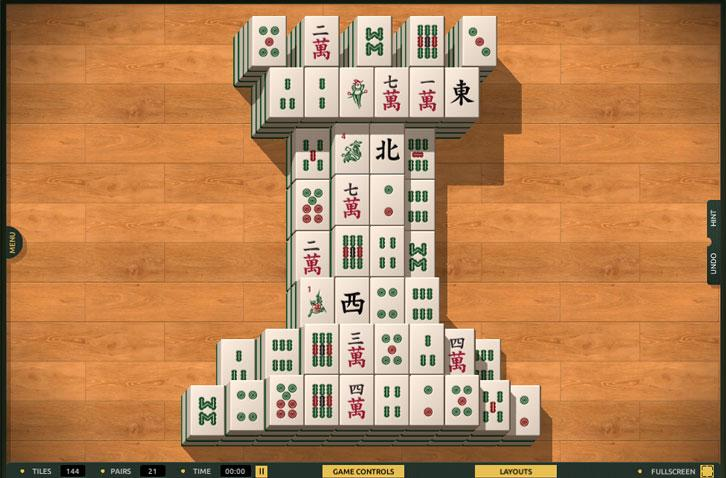 The Natural Look in TheMahjong.com