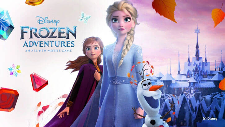 Join Elsa, Anna and Olaf and Explore the Kingdom of Arendelle in Disney Frozen Adventures