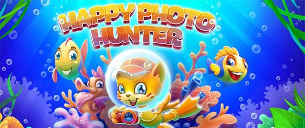 Happy Photo Hunter - Help the little feline hero explore the amazing underwater world in this match-3 game.