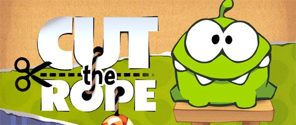 Cut the Rope - Feed your brand new, greenish, gel-like pet, Om Nom, as much candies as you can in this fun puzzle game, Cut the Rope!