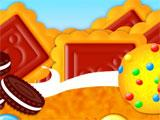 Sweets and Cakes Match 3 level selection screen