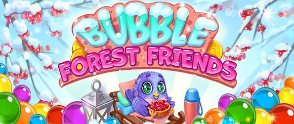 Bubble Forest Friends - Enjoy this delightful bubble shooting game that you won't be able to get enough of.