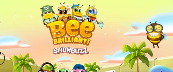 Bee Brilliant - Plunge into a humorous but still challenging Match 3 game.