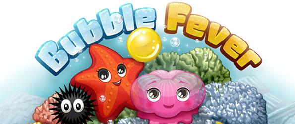 Bubble Fever - Beat the clock in this fast Facebook Bubble Game.