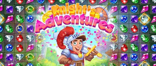 Knight's Adventures - Assist the brave knight as he embarks on an epic quest in this fun-filled match-3 game that doesn't disappoint.