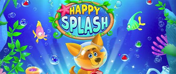 Happy Splash - Play this addicting match-3 game that'll have you engaged for countless hours.