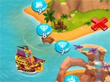 Booty Quest: Pirate Match 3 level selection