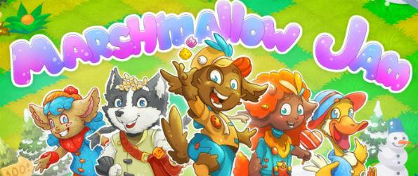 Marshmallow Jam - Marshmallow Jam carries the base mechanics we know of match 3 games like the back of our hands but adds a few twists and turns that will make the game worth your free time.