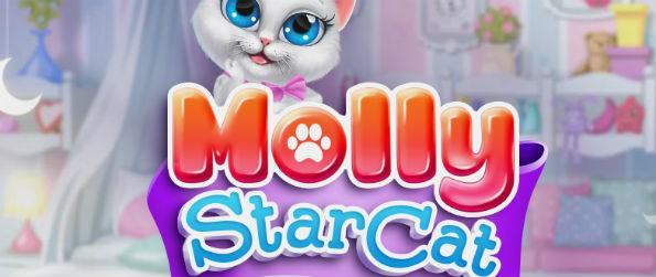 Molly StarCat - Want to play a cute and addicting match 3 game while taking care of a virtual pet? Download Molly StarCat.