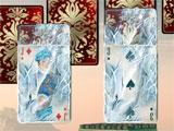 Jewel Match Solitaire Frozen Cards