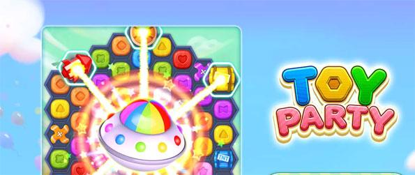 Toy Party - Dominate the game with your sleek Match 3 strategies.