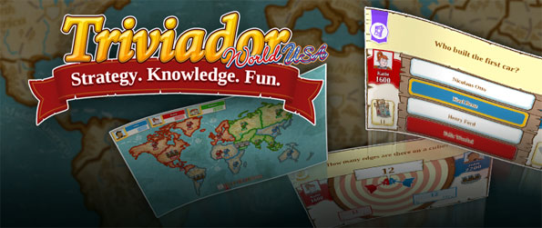 Triviador - Use your superior knowledge to conquer territories in this addicting trivia game that's quite unlike the rest.