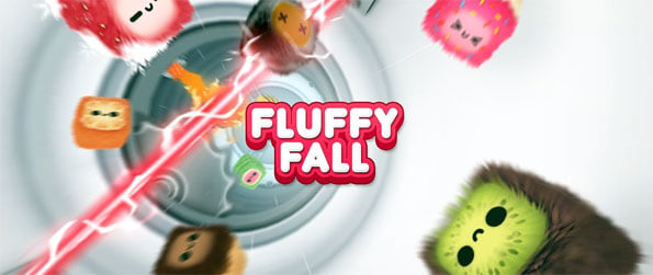 Fluffy Fall - Dodge moving obstacles with a fluff ball in Fluffy Fall.