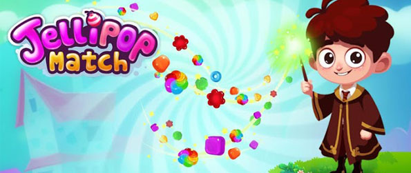 Jellipop Match - Match 3 or more Jellies to solve candy-filled puzzles.