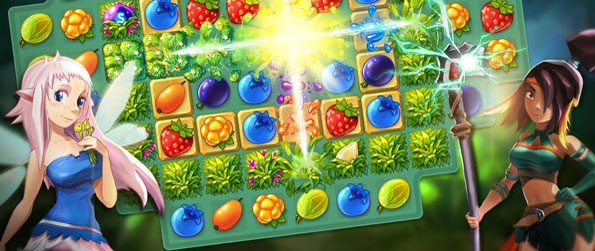 Bloomberry - Take care of your cute little pet, Bloom, and give it the most beautiful home ever in this fun-filled match-3 puzzle-adventure game, Bloomberry!